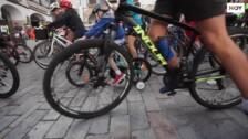Fiesta de la bicicleta en Cáceres