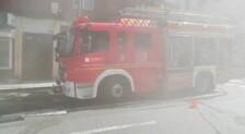 Desalojan un edificio en Oviedo por un incendio
