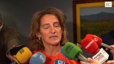 Teresa Ribera analiza el impacto de la transición ecológica en el Principado