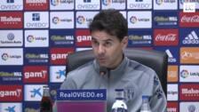 Míchel Sánchez: «Nos han empatado en la última jugada»