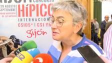 Ana González valora el Hípico y el verano en Gijón