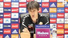 José Rojo Martín: «No es nada fácil ganar en el Carlos Tartiere»