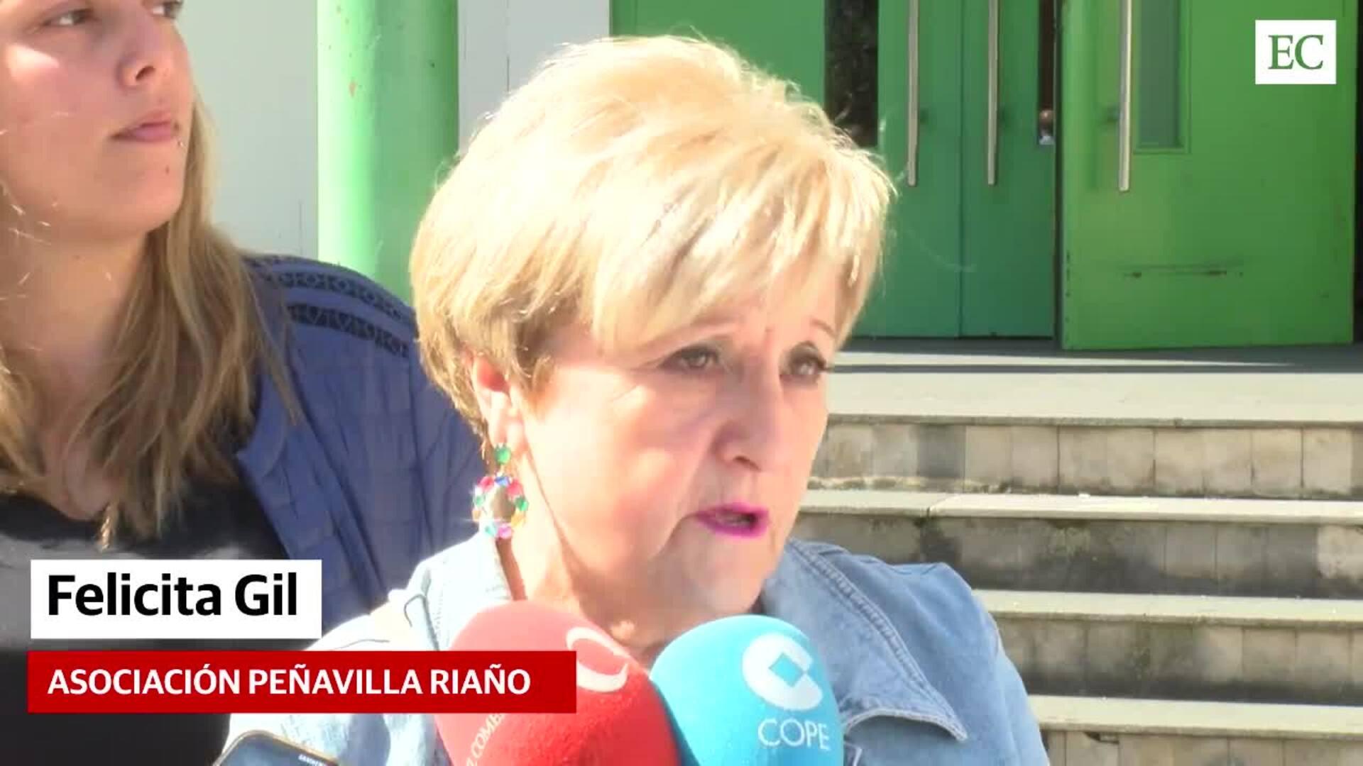 """""""Esto es por Asturias, no podemos dejar que nos la dejen como un solar"""""""