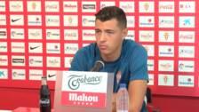 Pelayo Morilla:«Mi corazón está aquí, mi idea es hacerme un hueco en el primer equipo»