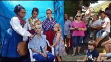 Lines Vejo canta tras su homenaje en Pesaguero