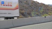 La 'autovía del bancal' se convierte en una 'trampa' debido a su progresivo deterioro