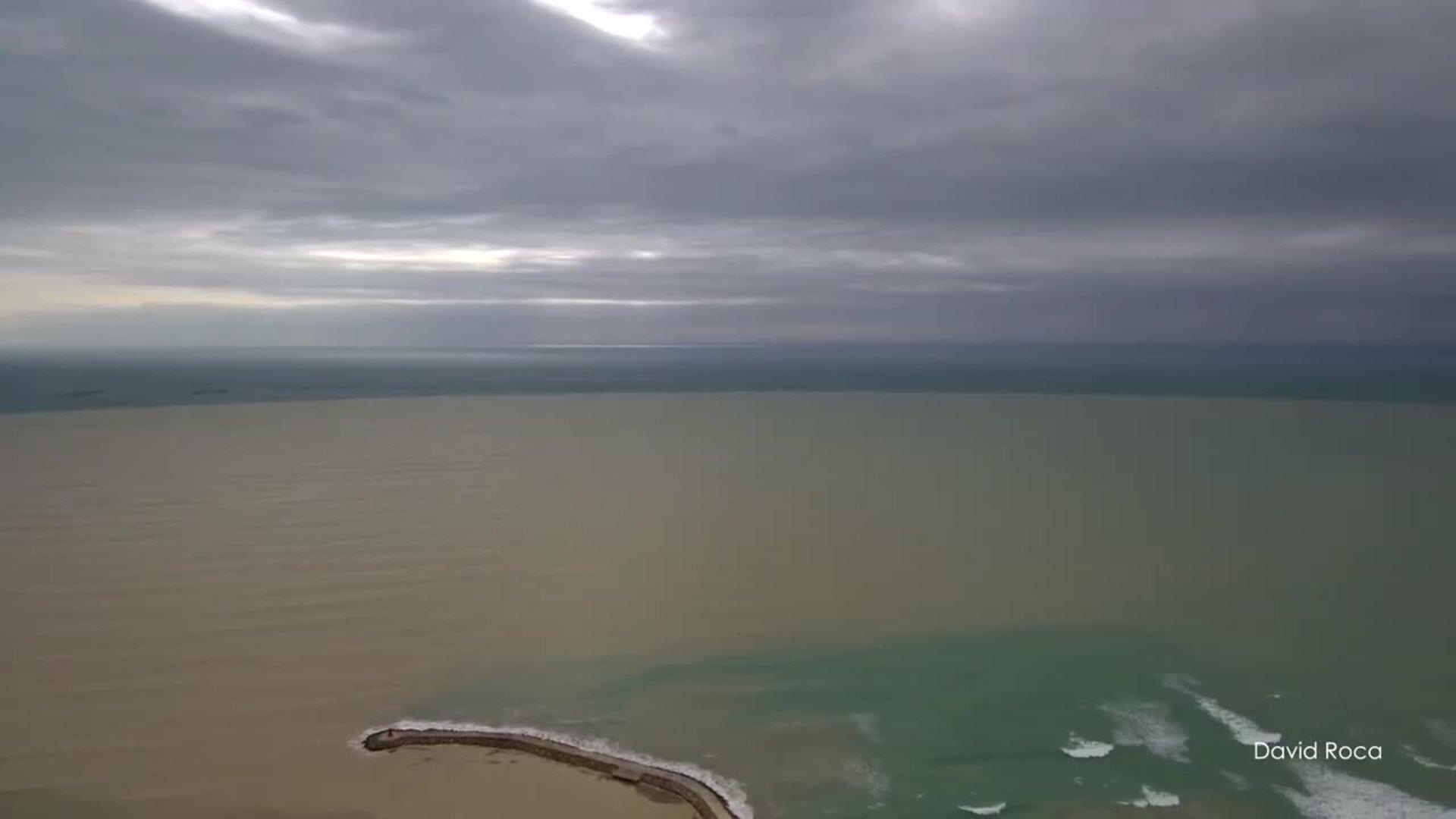 Así está la desembocadura del Segura tras la DANA