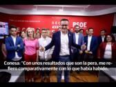Diego Conesa: «La noche electoral noté, detrás de mí, el aliento de los colmillos» de «leones» y «hienas»