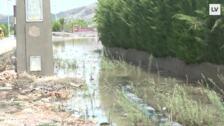 Inundaciones en las pedanías del municipio de Murcia