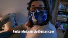 Costureras voluntarias de Molina trabajan en la fabricación de 3.000 mascarillas para la Arrixaca