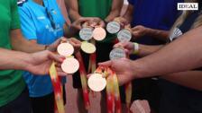 Diez medallas granadinas en el Campeonato de España
