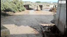 El río a su paso por el Barrio de Salazar de Baza