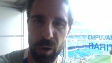 Rafa Lamelas, jefe de Deportes de IDEAl, da la alineación dede el Bernabéu