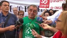 El Defensor del Ciudadano de Granada y el cura de La Paz se encierran en protesta por los cortes de luz en el barrio