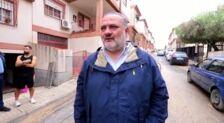El delegado del gobierno andaluz, Pablo García, valora la situación tras la tormenta