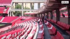 Así ha quedado el estadio de Los Cármenes tras la reforma