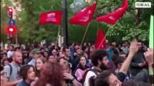 Concentración en Granada por el derecho a decidir del pueblo andaluz