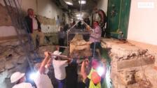 Cronología de los trabajos del sarcófago hallado en Villamena