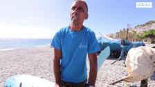 Antonio Olmo nos cuenta cómo rescató a dos personas que navegaban a la deriva en la playa del Tesorillo