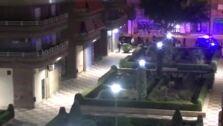 El momento del arresto de los ladrones de pisos de Granada