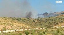 Declarado un incendio forestal en el paraje granadino de El Fargue