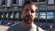 Rafa Lamelas, jefe de Deportes de Ideal, detalla el ambiente desde el Santiago Bernabéu