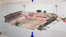 Reconstrucción en 3D de Los Cármenes antes de la reforma