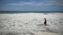 El viento se come, otra vez, Playa Granada
