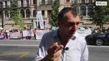 Padres, alumnos y profesores de colegios de la Alpujarra protestan por el cierre de aulas