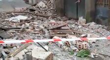 Vídeo del lugar en el que se ha derrumbado un edificio en Murillo