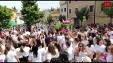 Fiesta en San Asensio poco antes de la Batalla del Clarete