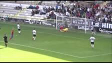 El gol de Chaco ante el Burgos