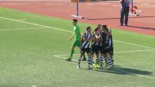 Goles del partido Haro-Burgos