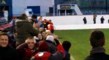 El gol de Jorge Valer en el añadido que le ha dado un punto a La Calzada
