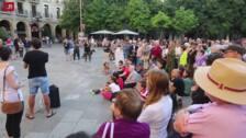"""Concentración en Logroño por un """"puerto seguro"""" para el Open Arms"""