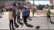 Protesta en Standard Profil