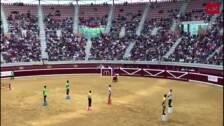 Los juegos del Gran Prix en las vaquillas
