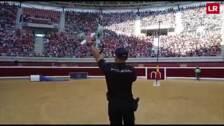 Exhibición policial en la plaza de toros de Logroño, dentro de los actos conmemorativos del Día de la Policía Nacional