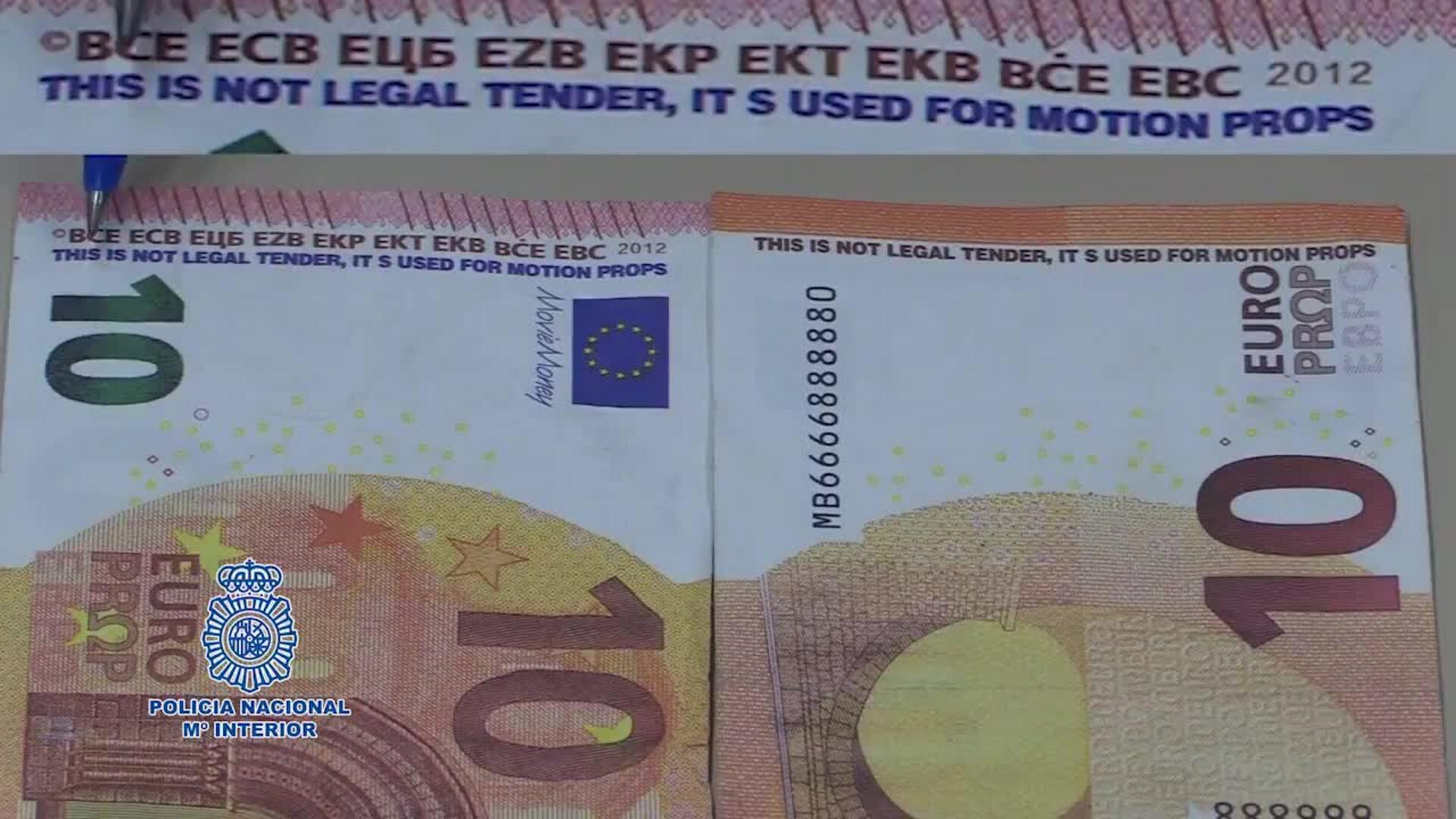 La Policía alerta de una estafa de billetes falsos que circulan ya por toda España