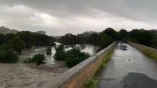 Rambla de la Glea o Río Nacimiento, en la Dehesa de Campoamor (Orihuela)