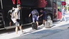 El Valencia CF llega a Suiza