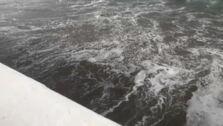 El temporal engulle parte de las playas de la Marina Alta