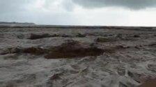 La playa de Campoamor, en Orihuela, destrozada por el temporal