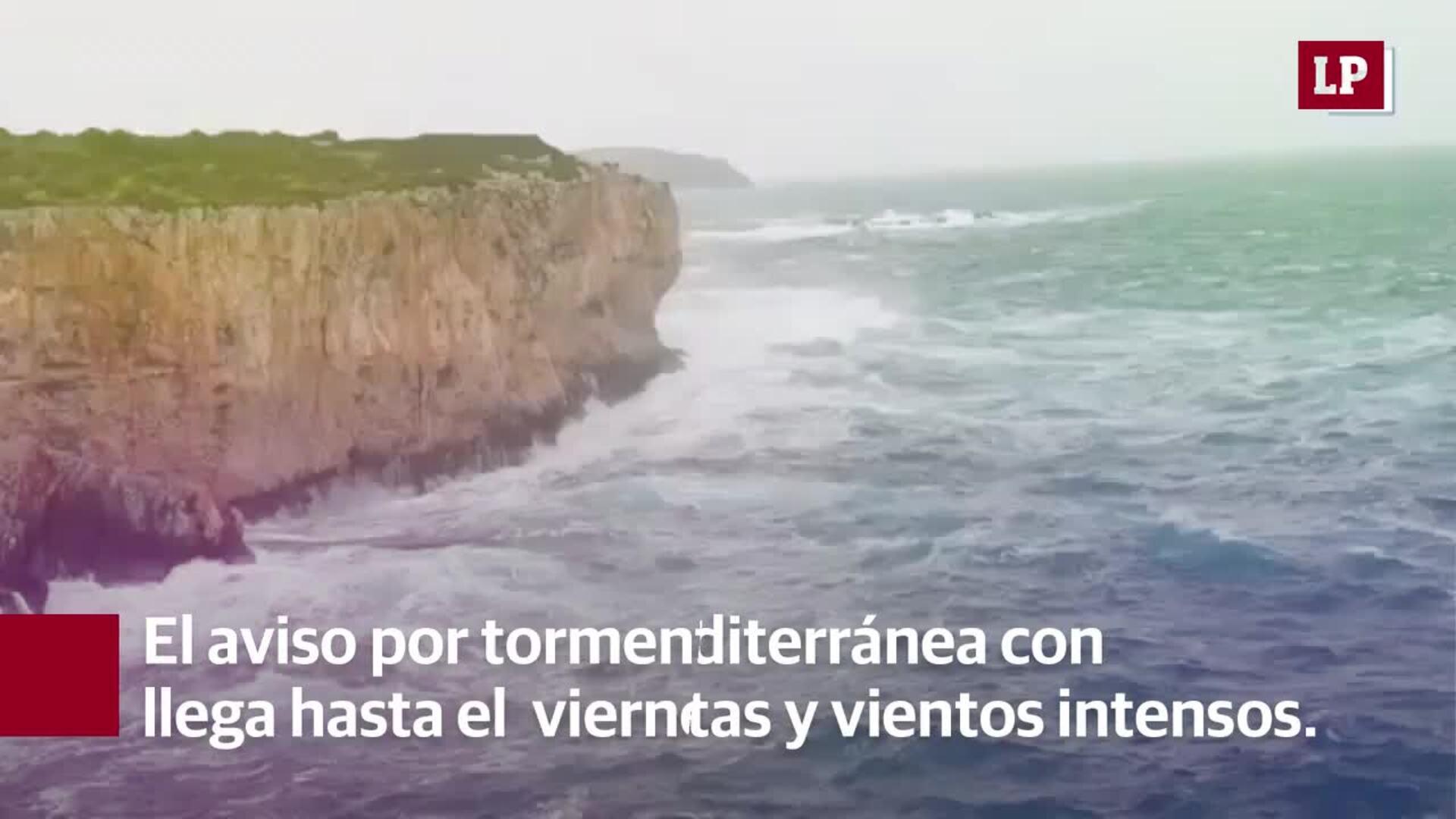 Así será la gota fría que dejará en Valencia lluvias de hasta 100 litros