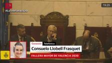 Consuelo Llobell y Carla García, falleras mayores de Valencia 2020