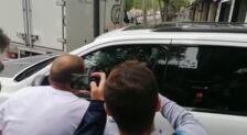Mateo Alemany sale de las oficinas del Valencia CF