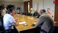 Francisco Igea se reúne con los representantes de los colectivos LGTBi de la Comunidad