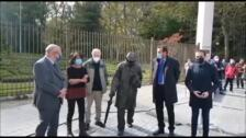 Inauguración oficial de la estatua de Miguel Delibes en Valladolid