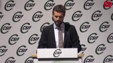 Pablo Casado clausura el IX Congreso Nacional de CSIF en Valladolid