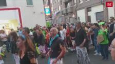 Desfile de peñas de Laguna